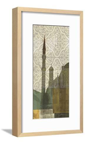 Eastern Spires III-James Burghardt-Framed Art Print
