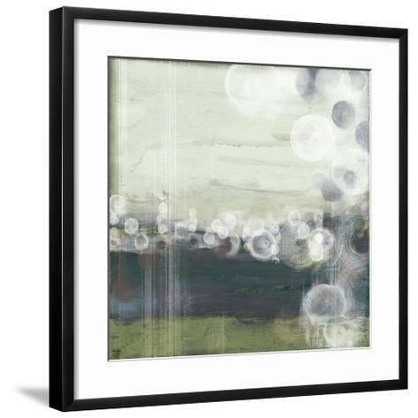 Horizon Spheres I-Jennifer Goldberger-Framed Art Print