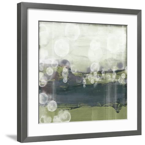 Horizon Spheres II-Jennifer Goldberger-Framed Art Print