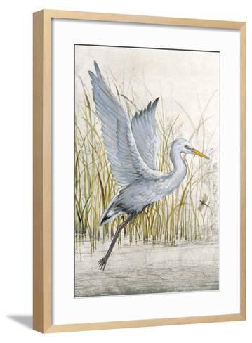 Heron Sanctuary I--Framed Art Print