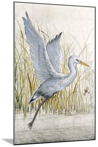 Heron Sanctuary I--Mounted Giclee Print
