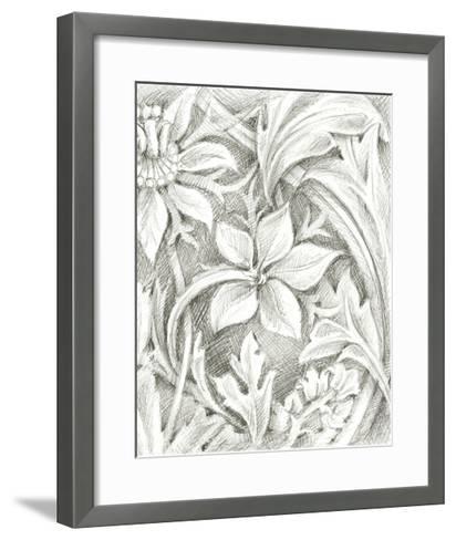 Floral Pattern Sketch III-Ethan Harper-Framed Art Print