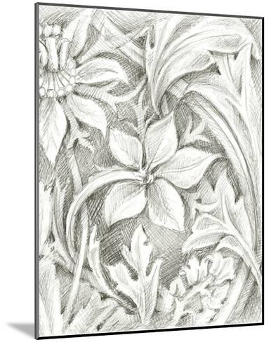 Floral Pattern Sketch III-Ethan Harper-Mounted Giclee Print