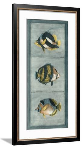 Tropical Fish Trio II--Framed Art Print