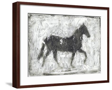 Equine Silhouette I-Ethan Harper-Framed Art Print