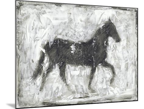 Equine Silhouette I-Ethan Harper-Mounted Giclee Print