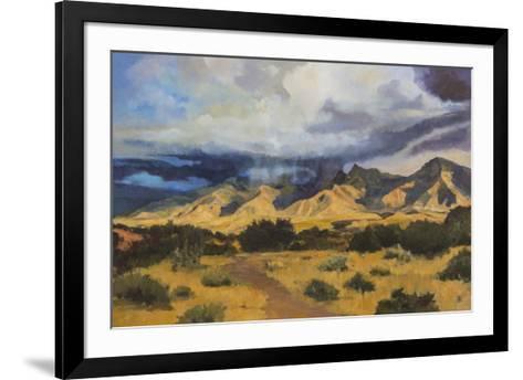 Desert Mountain Light-Judith D'Agostino-Framed Art Print