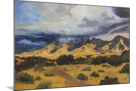 Desert Mountain Light-Judith D'Agostino-Mounted Giclee Print