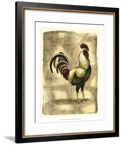 Tuscany Rooster I-D^ Bookman-Framed Art Print