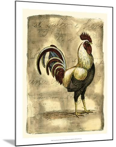 Tuscany Rooster I-D^ Bookman-Mounted Giclee Print