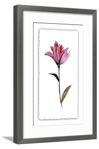 Floral Watercolor II-Kiana Mosley-Framed Art Print