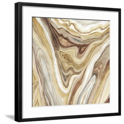 Watercolor Agate I-Megan Meagher-Framed Art Print