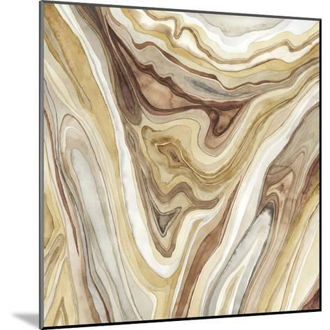 Watercolor Agate I-Megan Meagher-Mounted Limited Edition