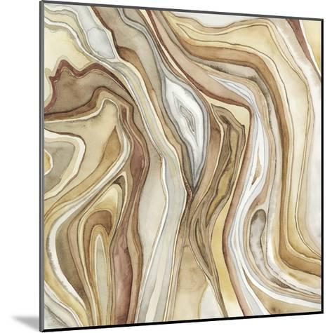 Watercolor Agate II-Megan Meagher-Mounted Limited Edition