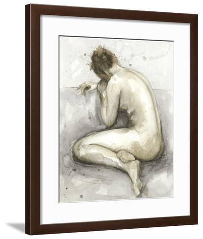 Figure in Watercolor II-Megan Meagher-Framed Art Print