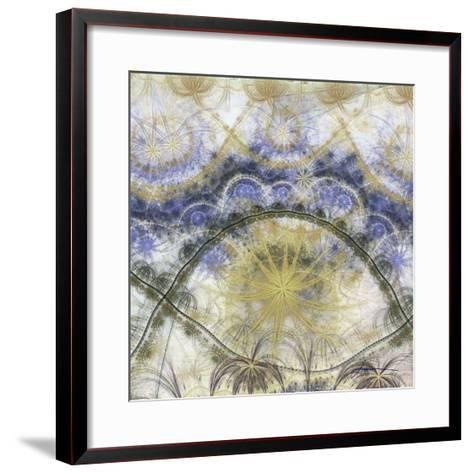 Bedouin Map III-James Burghardt-Framed Art Print