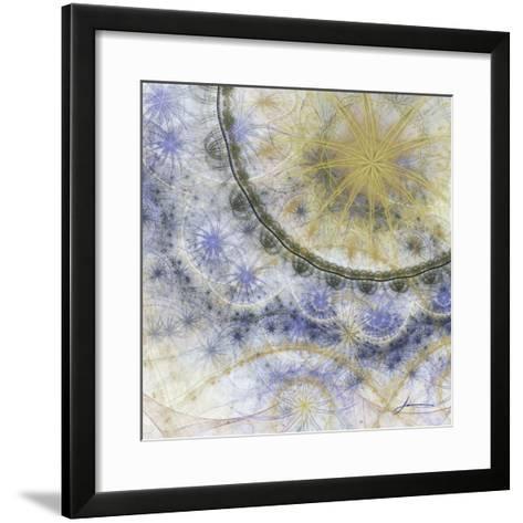 Bedouin Map IV-James Burghardt-Framed Art Print