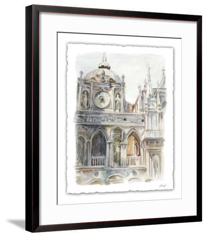 Architectural Watercolor Study II-Ethan Harper-Framed Art Print