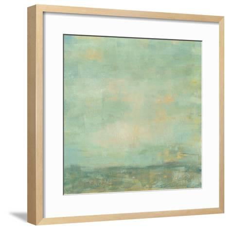 Mint Sky I-Jennifer Goldberger-Framed Art Print