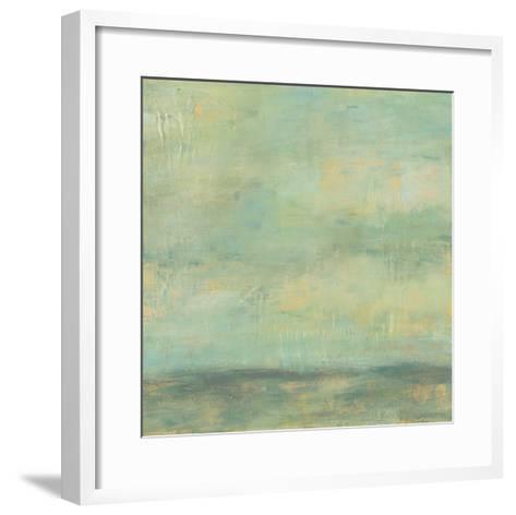 Mint Sky II-Jennifer Goldberger-Framed Art Print