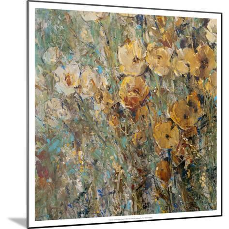 Amber Poppy Field I--Mounted Art Print