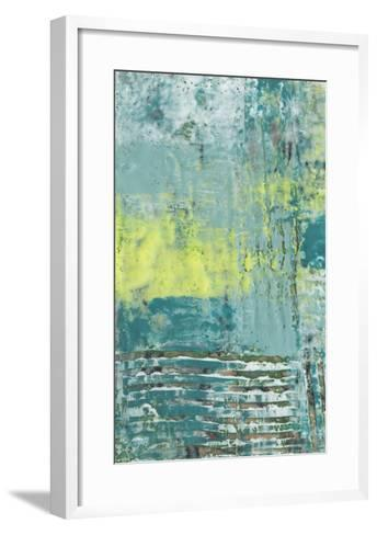 Linear Texture I-Jennifer Goldberger-Framed Art Print