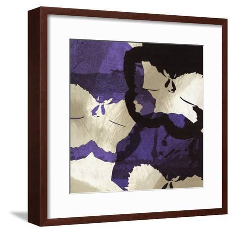 Bloomer Tiles VIII-James Burghardt-Framed Art Print