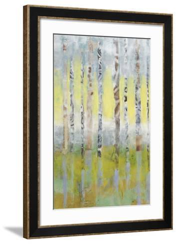 Birchline Collage I-Jennifer Goldberger-Framed Art Print
