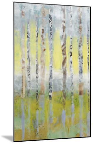 Birchline Collage I-Jennifer Goldberger-Mounted Limited Edition