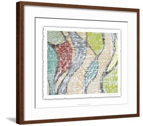 Undulating Color III-Jennifer Goldberger-Framed Art Print