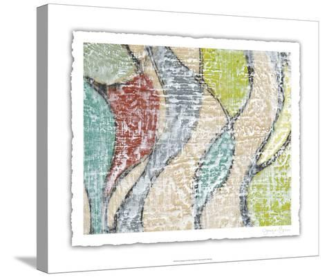 Undulating Color III-Jennifer Goldberger-Stretched Canvas Print