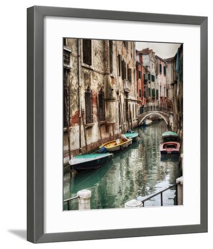 Six Boats-Danny Head-Framed Art Print
