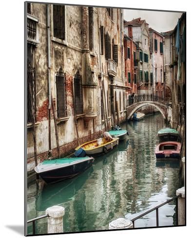 Six Boats-Danny Head-Mounted Giclee Print
