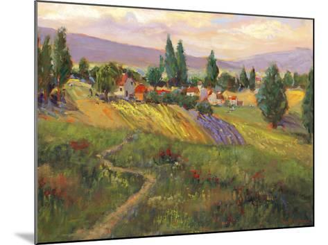 Vineyard Tapestry III-Nanette Oleson-Mounted Giclee Print
