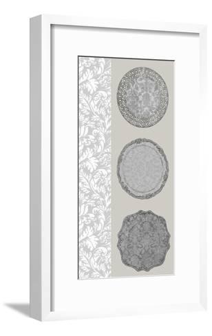 Linear Tableware I-Erica J^ Vess-Framed Art Print
