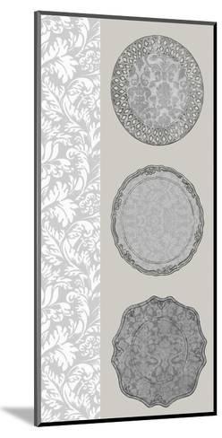 Linear Tableware I-Erica J^ Vess-Mounted Art Print