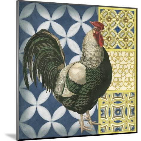 Classic Rooster I--Mounted Art Print