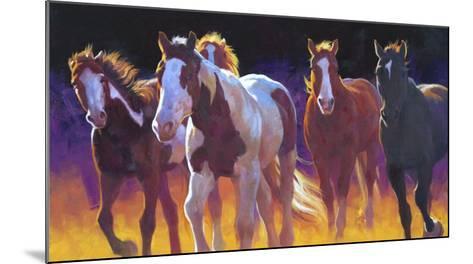 Whitefish Morning-Julie Chapman-Mounted Art Print