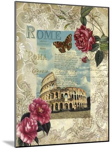 Eternal Rome-Abby White-Mounted Art Print