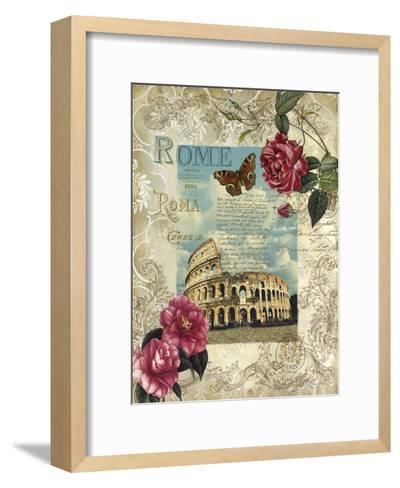 Eternal Rome-Abby White-Framed Art Print