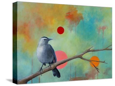 Mysteries of the Universe X-Bridget G^ Evans-Stretched Canvas Print