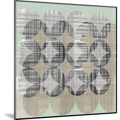 New Pattern I-Jennifer Goldberger-Mounted Art Print