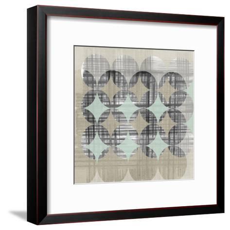 New Pattern II-Jennifer Goldberger-Framed Art Print
