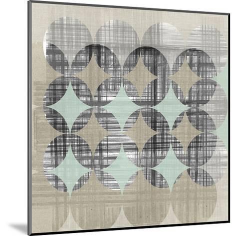 New Pattern II-Jennifer Goldberger-Mounted Art Print