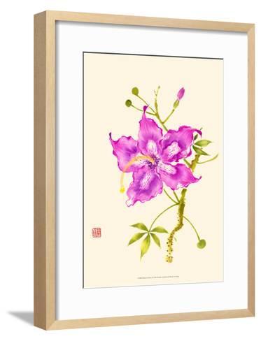 Hibiscus Flower I-Nan Rae-Framed Art Print