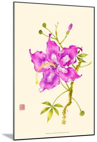 Hibiscus Flower I-Nan Rae-Mounted Art Print