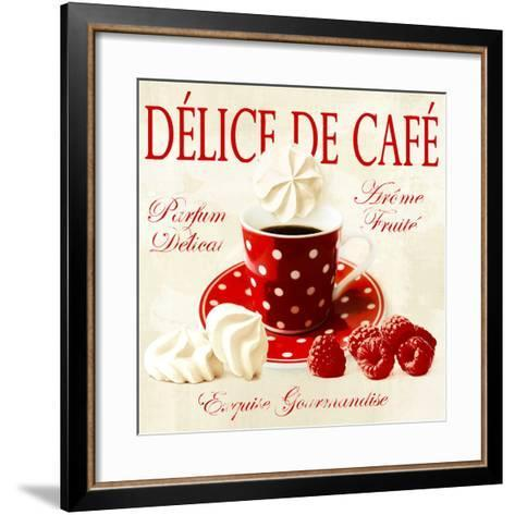 Coffee delight-Galith Sultan-Framed Art Print