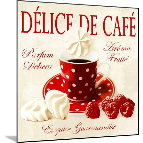 Coffee delight-Galith Sultan-Mounted Art Print