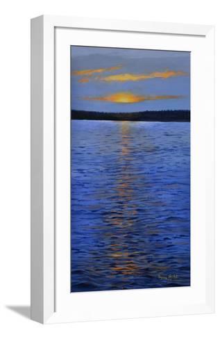Couché de solei-Sylvia Audet-Framed Art Print