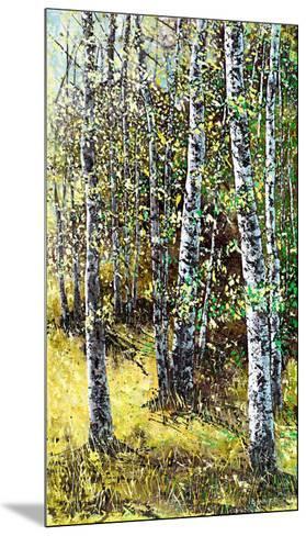 Treescape 6-Carole Malcolm-Mounted Art Print